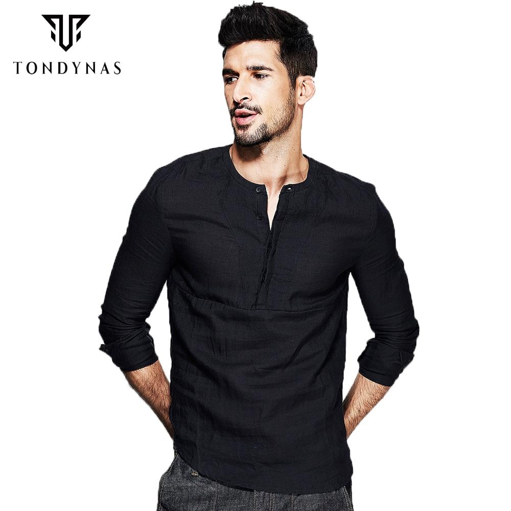 Popular Black Linen Shirts-Buy Cheap Black Linen Shirts lots from ...