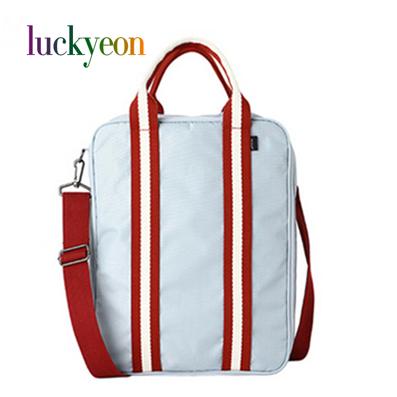 Корея Стиль Водонепроникна мода Жінки Людина Камера зберігання Бізнес-сумки унісекс