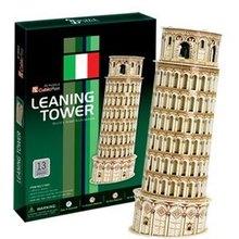 3D модели игрушки кубические забавы 3D бумажная модель Игра Головоломка пицца башня c706h