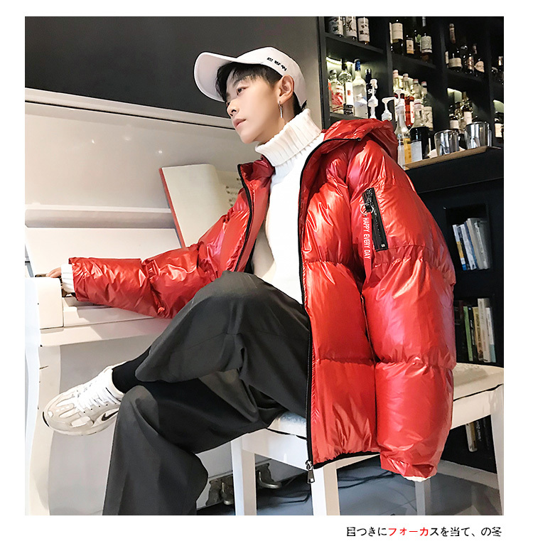 a52e8dff4 Winter Jacket Men Warm Thick Fashion Cotton Hooded Coat Man Parka Casual  Loose Solid Color Windproof Outwear Male Clothes M-5XL