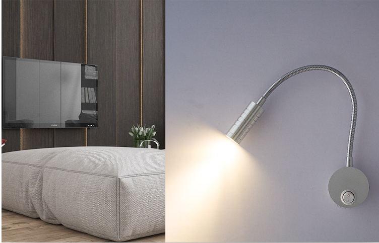 W led applique da parete lampada da comodino lampada da lettura