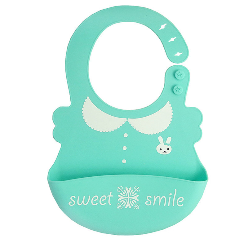 Mother & Kids Accessories Baby Waterproof Silicone Bibs Toddler Tie Aprons Food-grade Silicone Bibs For Children Feeding Care