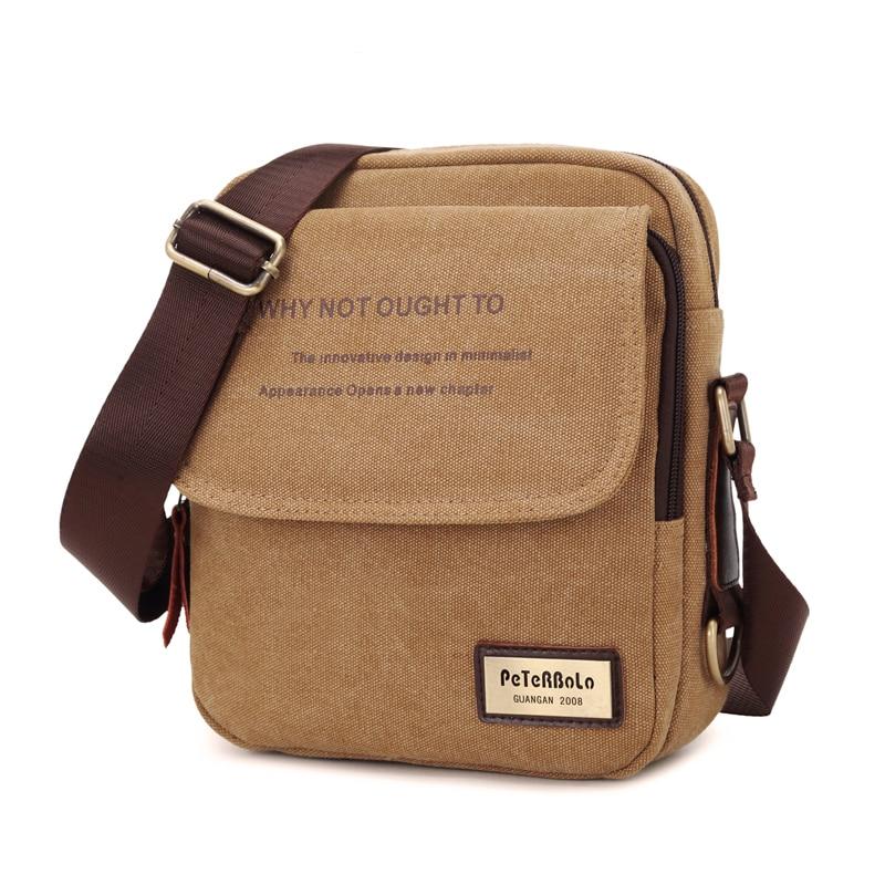 2018 New Men Messenger Bag Canvas Vintage Shoulder Bags High Quality Casual Fashion Small Mens Bags2018 New Men Messenger Bag Canvas Vintage Shoulder Bags High Quality Casual Fashion Small Mens Bags