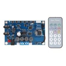TS-BTP2502 60 W + 60 W Bluetooth 4.1 sans fil Audio Radio AUX amplificateur canaux Gauche et droit 30 W conseil