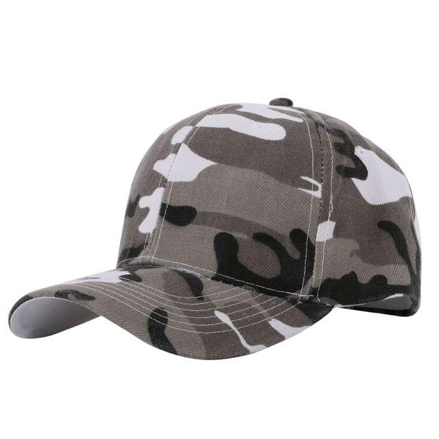 e434b6933eb Men and Women Camouflage Half Mesh Army Hat Baseball Cap Desert Jungle Snap Camo  Cap Hats