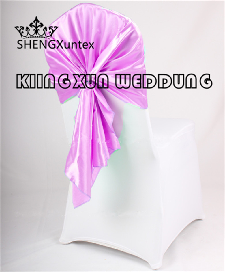 Good Looking Satin Chair Hood  Chair Sash Fit For Wedding Chair Cover Free Shipping