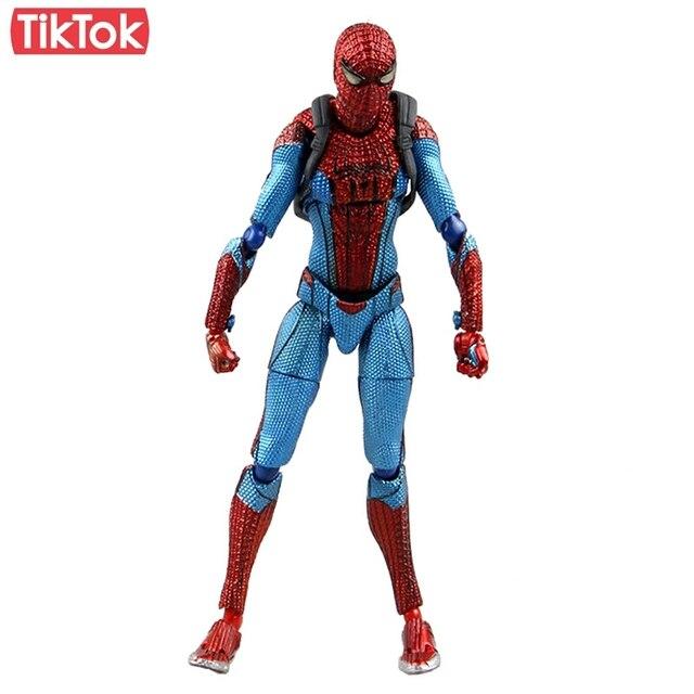 Filme SpiderMan Homem Aranha do Regresso A Casa 199 Dos Desenhos Animados Toy Action Figure Modelo Boneca de Presente