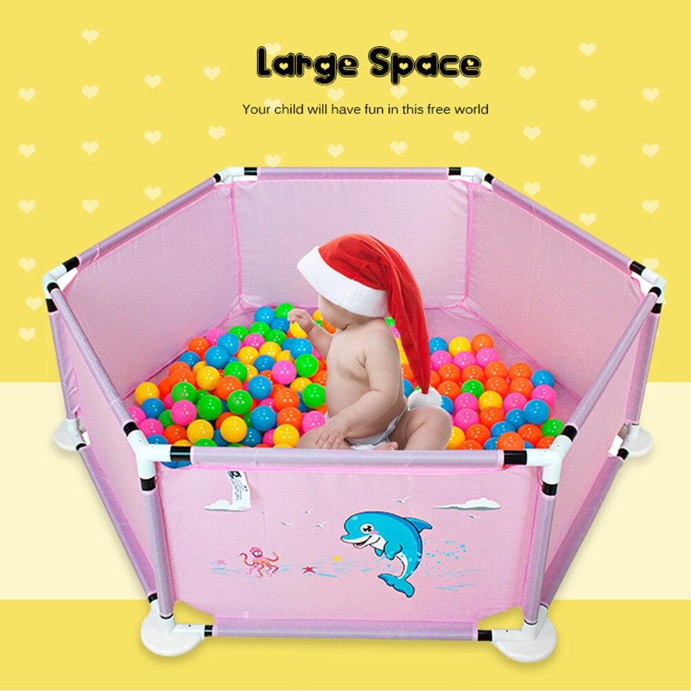 Maison de jeu Intérieur Extérieur Pliable boule de l'océan Piscine Pit Jeu Tente Dauphin Impression Playhut Jardin Playhouse Enfants jouet pour enfant Tente