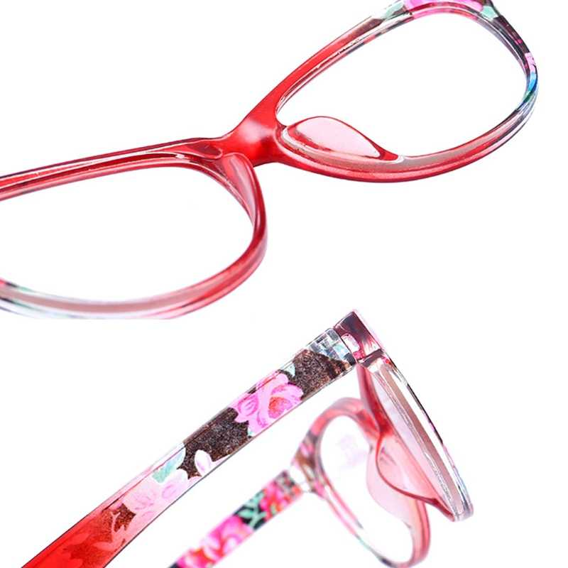 c1be9a2618 ... Cat Eye Women Reading Glasses Mens Resin Anti Fatigue Reading-glasses  Brand Women s Glasses Transparent ...