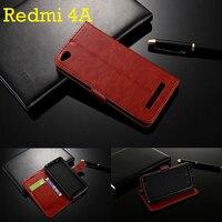For Xiaomi Redmi 4A Case 5 0 Inch Flip Wallet Genuine Leather Cover For Xiaomi Redmi