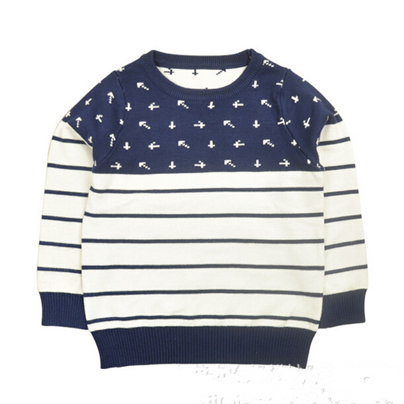 Sweaters for Children kids boy sweater blue black pull garcon full sleeve boys  sweater pullover cotton