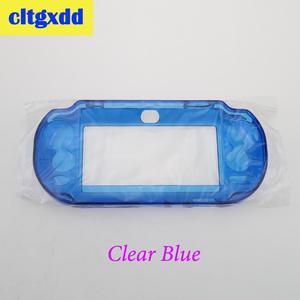 Image 5 - Cltgxdd פלסטיק קשיח מקרה קריסטל מעטפת מגן כיסוי מעטפת עור מגן יד גריפ מקרה עבור Sony PSVita PSV1000 משחק machin
