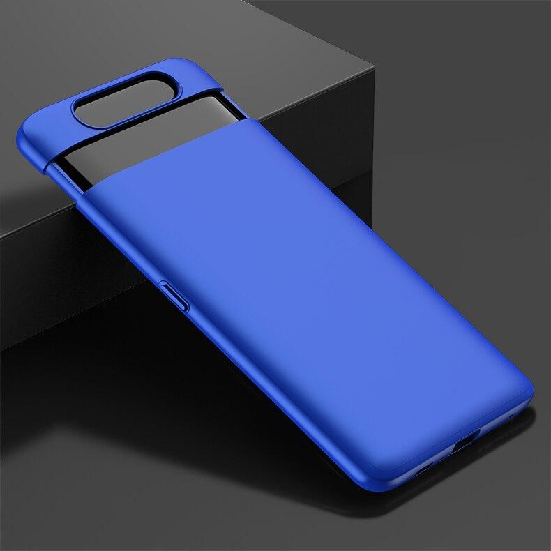 HTB17KkTXGSs3KVjSZPiq6AsiVXaK For Samsung Galaxy A80 Case Hard Hybrid PC 360 Full Body Protective Back Cover for Samsung Galaxy A80 Phone Case Fundas Coque