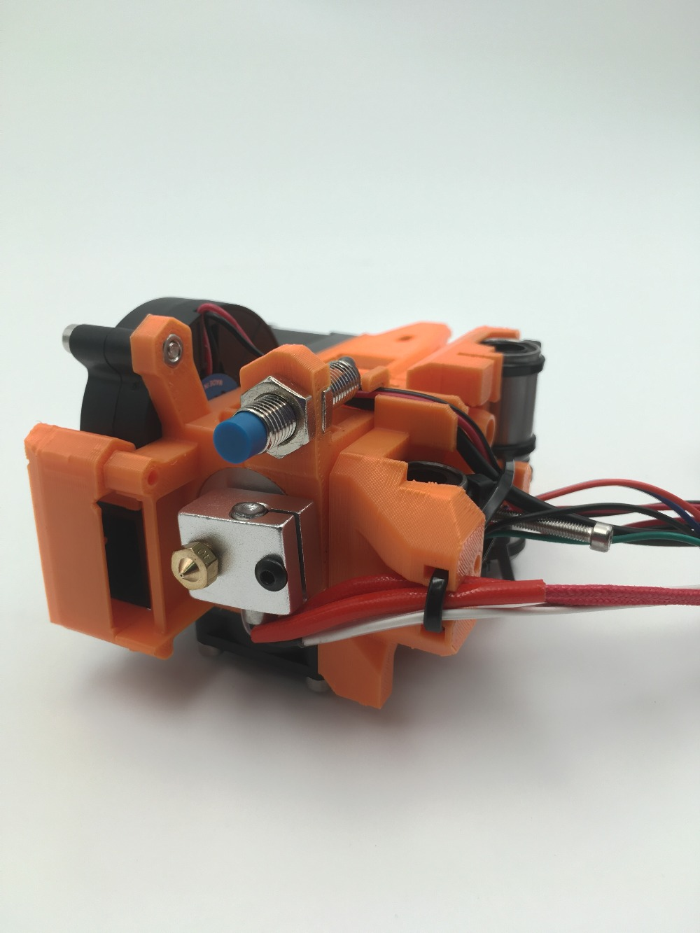 Prusa I3 Mk2/mk2s Extruder Full Kit, PLA Printed Parts ,cloned Btech Dual-drive Gears,with Hotend, X Carriage, P.I.N.D.A. Probe