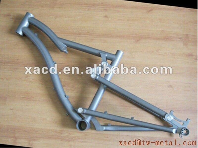 Bicycle-Frameset Top-Rated-Titan Titanium Ti-Suspension Moutain New-Design with Sandblasting