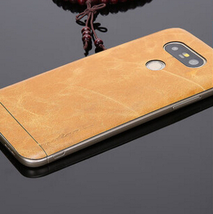 hot sale online 902b5 7092f US $16.99 |Retro style Excellent cowhide leather Genuine leather smart  phone sticker cover case for LG G5 case on Aliexpress.com | Alibaba Group