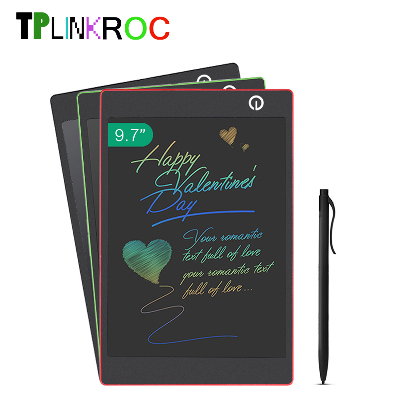 9.7 Inch Drawing Toys LCD Writing Tablet Erase Drawing Tablet <font><b>Electronic</b></font> Paperless Handwriting Pad Kids Writing Board Gifts