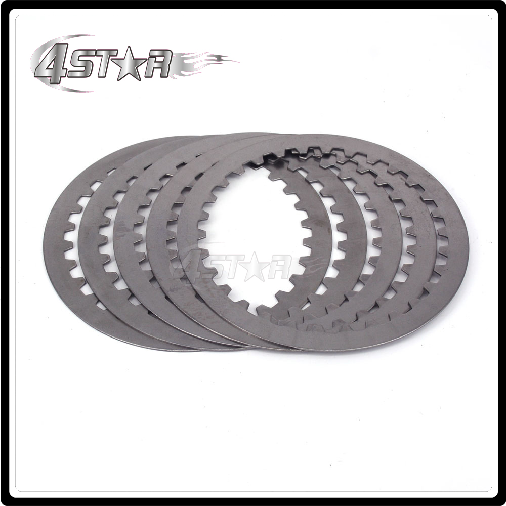 5 Pieces Engine Steel Clutch Disc Friction Plate For ZONGSHEN NC250 KAYO T6 K6 BSE J5 RX3 ZS250GY-3 4 Valves Parts Motorcycle clutch clutch disc clutch