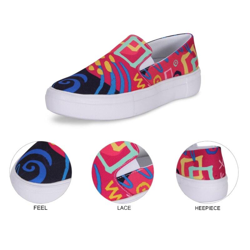 Femelles Sur Dreamcatcher Automne Chaussures Plat Casual Sneakers Caoutchouc Slip scsu0050006re Femmes Toile Designyours Paresseux Respirant Mocassins Solf 7w71xq4z