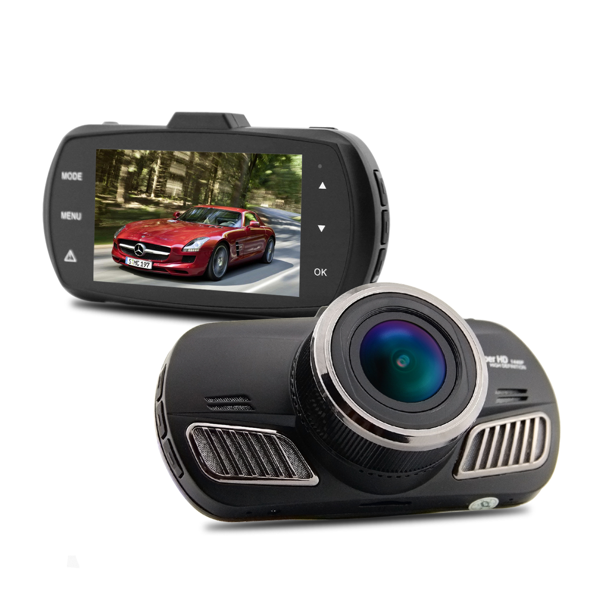 Car camera ambarella a12 mini dvr full hd 2560*1440p with gps module video recorder dash cam night vi