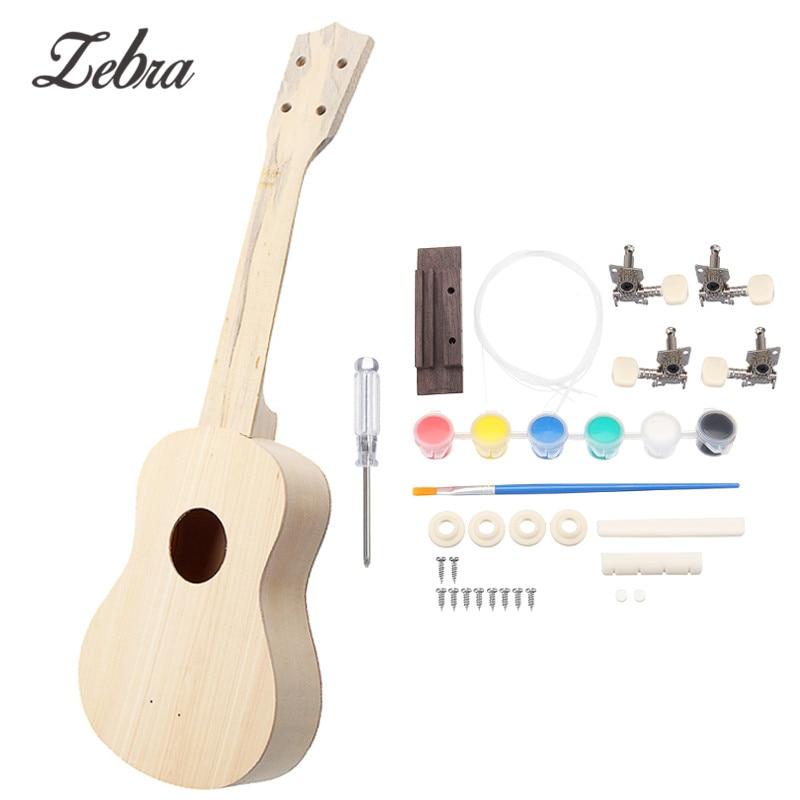 Ukulele Musical Instruments Devoted Ammoon Colorized 24 Acoustic Soprano Ukulele Ukelele Uke Wooden 18 Frets 4 Strings Okoume Neck Rosewood Fingerboard