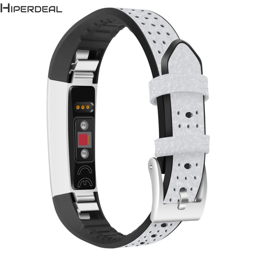 HIPERDEAL New Replacement TPU Leather Band Strap Bracelet For Fitbit Alta HR/Fitbit Alta Hot 17Dec23 Drop Ship F