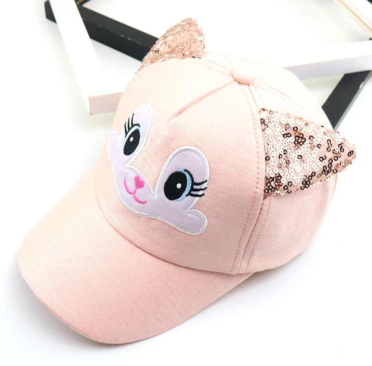 Симпатичные детские шляпы мультфильм ребенок корейский Кот бейсболки сезон: весна-лето для маленьких мальчиков солнечные шляпы девушки шапочки Дети реквизит