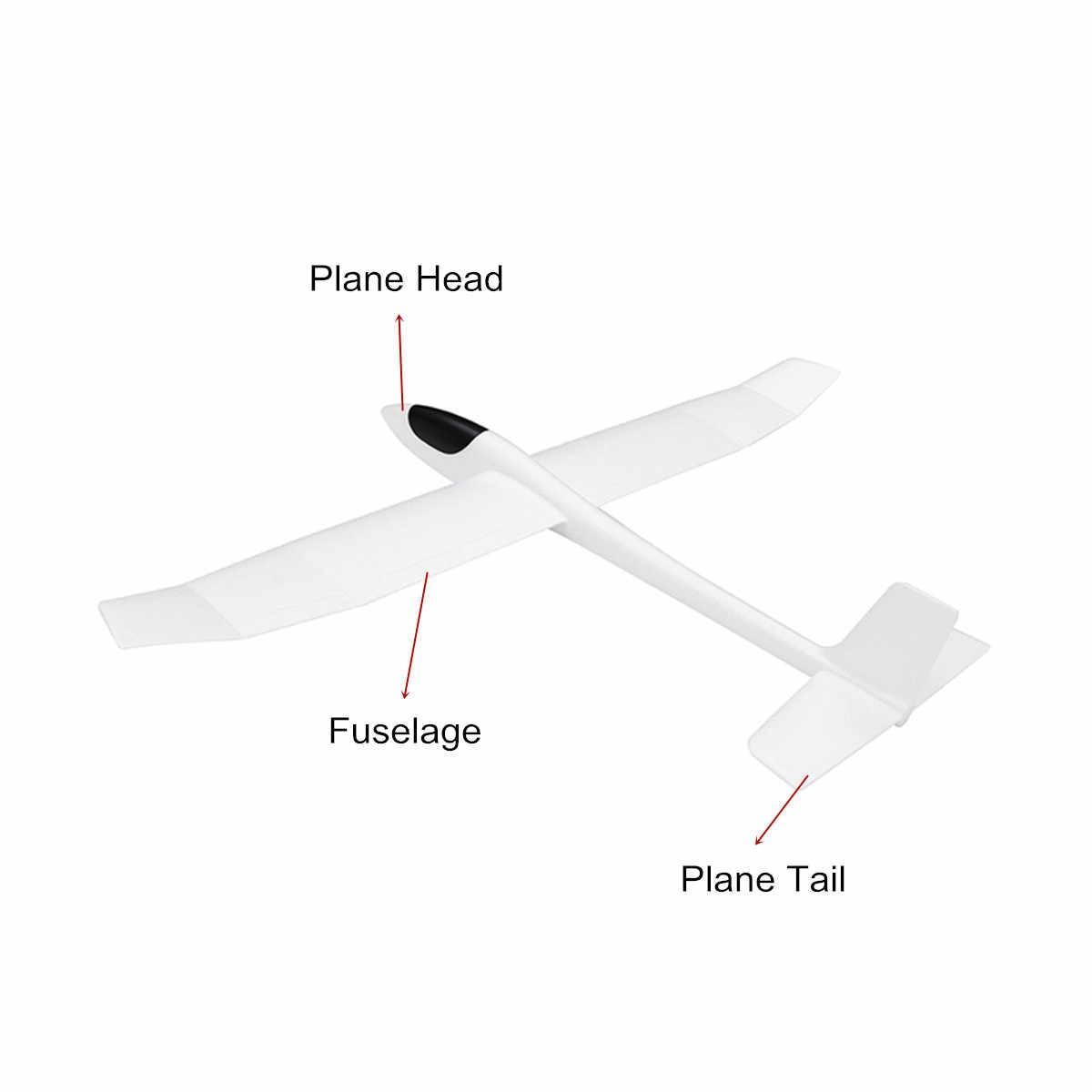 RC гоночный самолет размах крыльев хватать руками планер EPO FX-707 фиксированное крыло открытый самолет модель DIY игрушки с наклейкой для детей