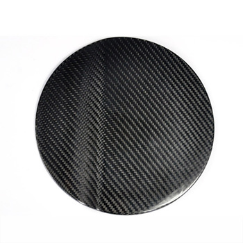 Brand New Real Carbon Fiber Gas Fuel Cap Door Cover Pad Decal Sticker For Ford Mustang 2015