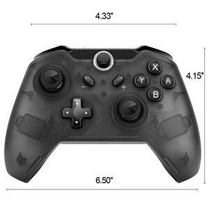 Image 5 - EastVita 1 adet/2 adet Bluetooth kablosuz Pro denetleyici Gamepad Joypad uzaktan nintendo anahtarı konsolu için Gamepad Joystick r25