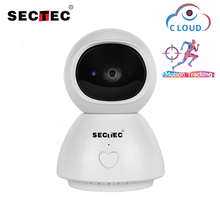 Sectec 1080P One Key Calling IP Camera AI Auto Tracking Security Cloud Storage Wifi