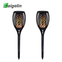 96 LED Solar Powered Spot Light Waterproof Flickering Flames Solar LED Lamps Landscape Decoration Outdoor Grounding
