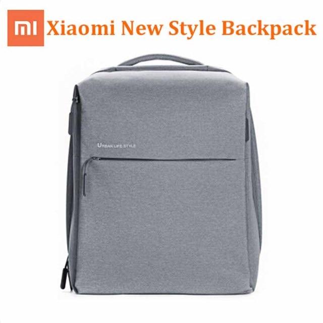 Quente! Xiaomi mochila original unissex, mochilas estilo de vida urbana para homens e mulheres, grande capacidade, para laptop