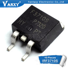 10pcs IRF3710S TO-263 F3710S 3710S TO263 IRF3710 MOSFET N-CH 100V 57A D2PAK(China)
