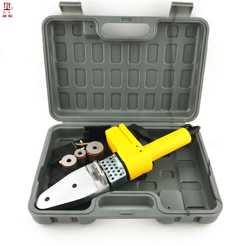 New 1 Set 220V DN20-32mm Pipe Soldering Iron PPR Plastic Pipe Welder Plastic Tube Welding Maching Plumber Tool
