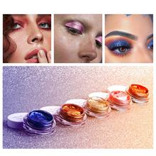 25-Color Jelly Eyeshadow Gel Cream Brightening High-Light Wet Gloss Paste Monochrome Glitter RQS-Y15