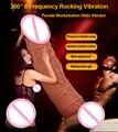 MizzZee Consolador Vibradores Juguetes Para La Mujer Caballo Realistas Pene Masculino Recargable de Control Remoto Inalámbrico Pene Artificial
