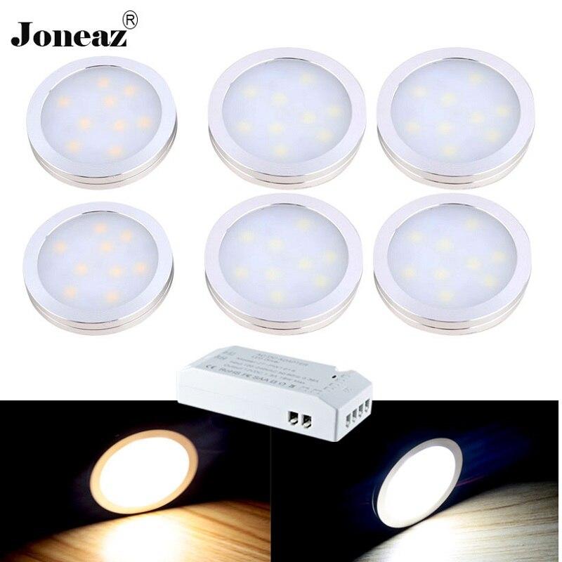 Led under cabinet light for closet kitchen wardrobe 110V 220V 12V luz armario hallway lampara cupboard 1 set dropshipping Joneaz