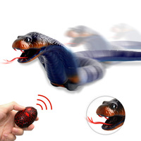 New High Simulation Animal Cockroach Infrared Remote Control Kids Toy Funny Prank Realistic RC Gift Snake Toys for Children
