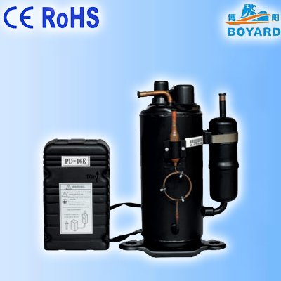 R404a Rotary screw Refrigeration compressor for supermarket display cabinet cold food freezers showcase 1hp 60hz horizontal refrigeration compressors for upright beverage display cooler