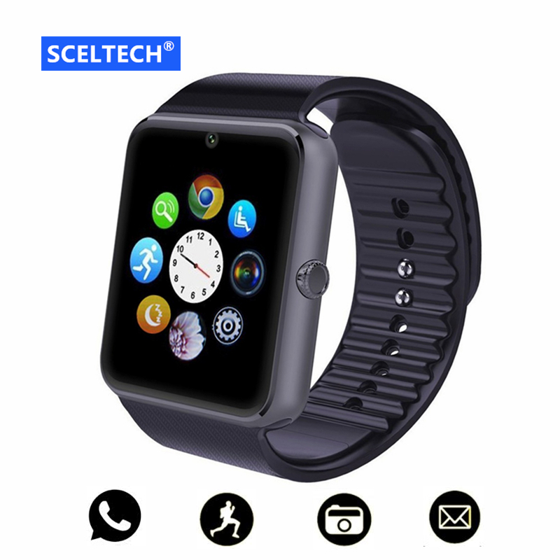 SCELTECH X1 Bluetooth Smart Watch For Apple iPhone IOS Android Phone Wrist Wear Support Sync smart clock Sim Card PK DZ09 GV18