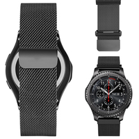 HOCO Magnetic Closure Milanese Loop Watch Band for Samsung Gear S3 Classic/Frontier Galaxy Watch 46mm Smart Watch Wrist Strap