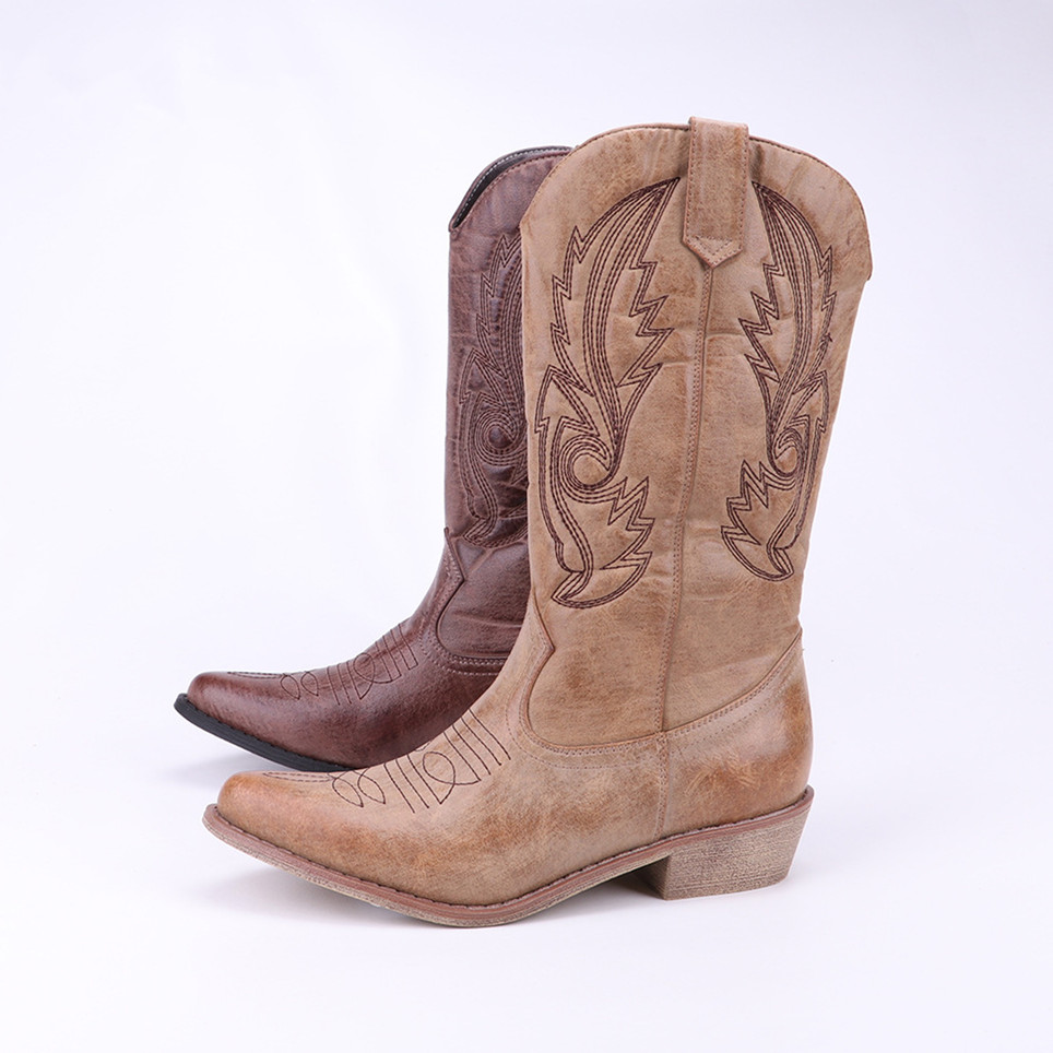 Popular Cowboy Boots Womens-Buy Cheap Cowboy Boots Womens lots ...