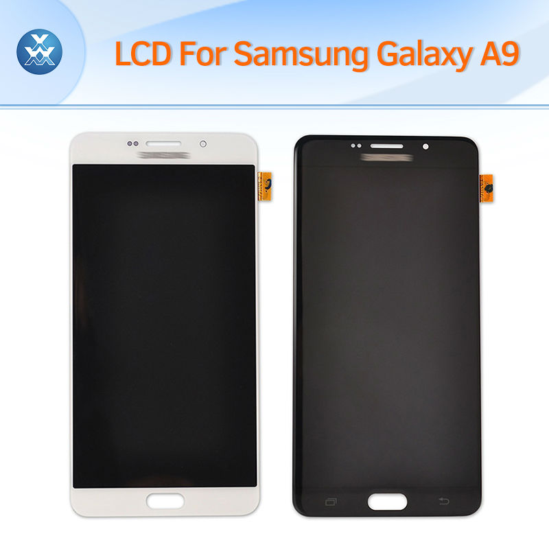 100% Original New LCD screen for Samsung Galaxy A9 2015 A900 A9000 LCD display touch panel digitizer glass complete assembly dracco игровой набор лошадки filly звезды волшебная семья мини версия astro и hypnia