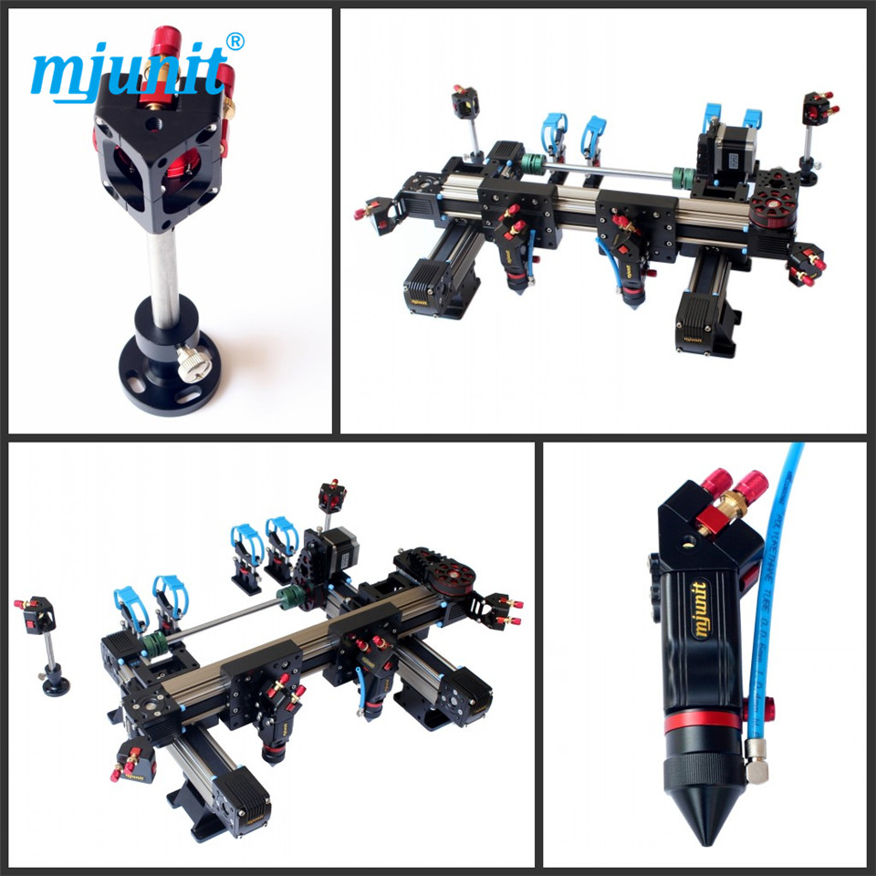 mjunit Double header kit for 1300x1300mm stroke laser cutting machine