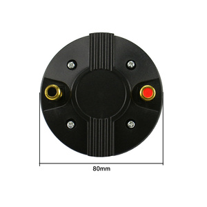 Image 4 - GHXAMP 25 ליבה צופר רמקול הטוויטר 25.4 Core טרבל נהג ראש טיטניום סרעפת מקצועי שלב 8Ohm 50W