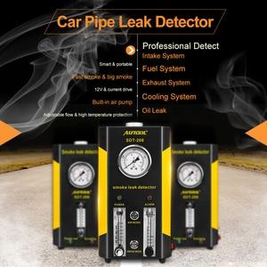 Image 3 - AUTOOL 2019 NEW SDT 206 Car Smoke Machines Leak Locator Automotive Diagnostic Leak Detector Auto Diagnostic Tool PK SDT206