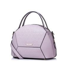 2016 New Fashion Shell Domed Bag Women's Cowhide Leather Tote Handbag Versatile Ladies Shoulder Bag Crossbody Purse