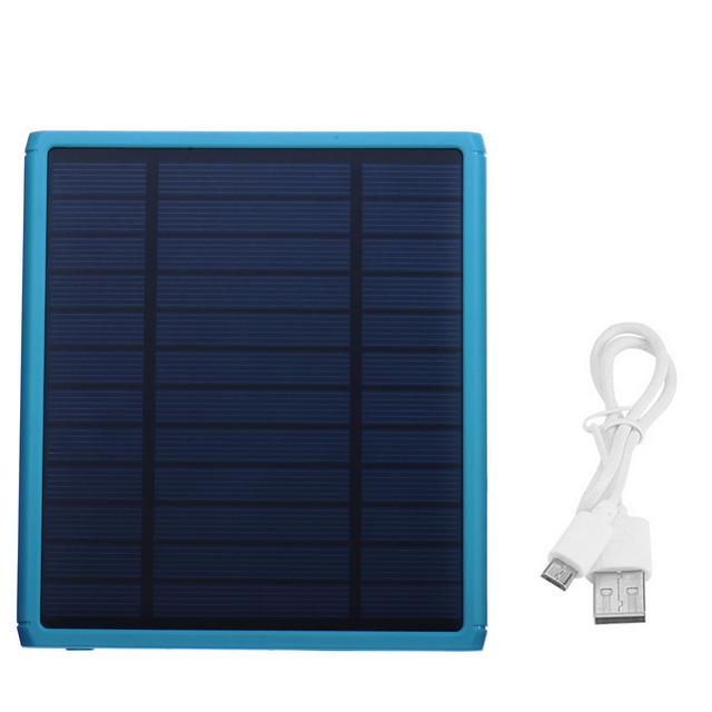Bienes 12000 mAh Batería Externa del Banco de Potencia Dual USB Cargador Solar Resistente Al Agua powerbank para iphone 5s 6 s 7 plus para samsung s6 s7