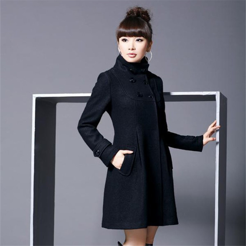 Hiver Manteaux La Coréenne Femmes À Style Taille Manteau 2018 Long Plus Mode Vêtements Dames De Capuchon Laine Femme Sqx56CdvSw